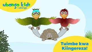 Imba kwa Kiingereza na Kiswahili na Ubongo Kids! | Swahili and English songs from Ubongo Kids