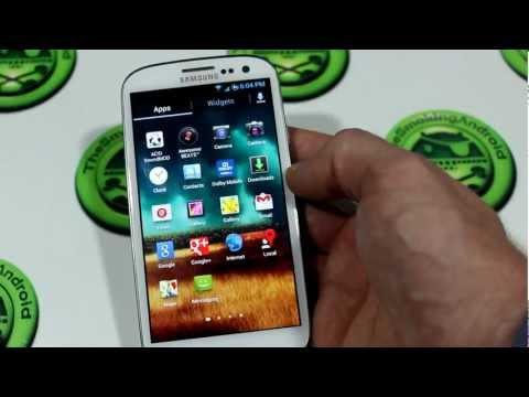 crDroid v8.0 ROM For Rooted Galaxy S3 I9300