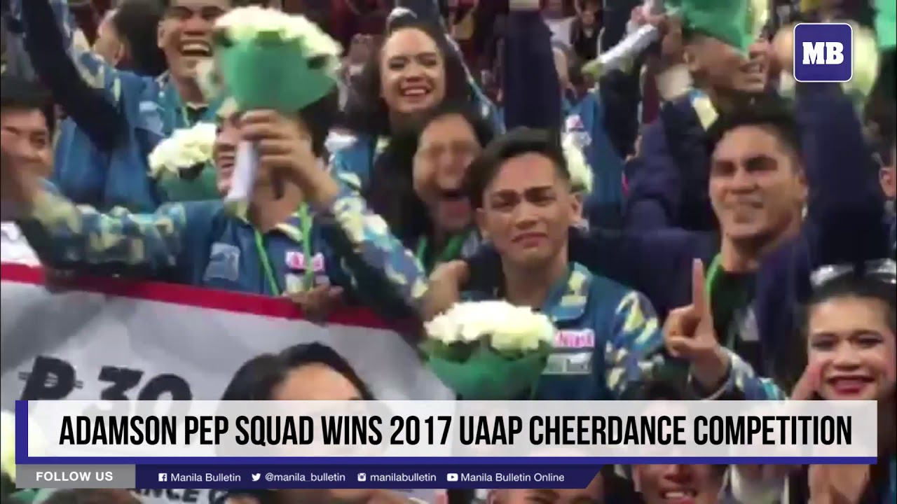 Adamson Pep Squad wins 2017 UAAP Cheerdance Competition