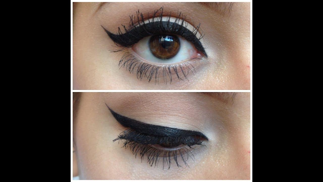 Winged eyeliner styles tumblr