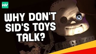 Pixar Theory: Why Don't Sid's Toys Talk in Toy Story?