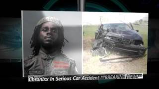 Chronixx In Serious Conditions After Dangerous Car Accident