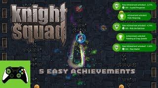 5 Easy Achievements | Knight Squad | Achievement Guide