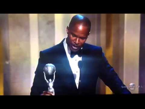 Carlton Hall Video Blog- Jamie Foxx NAACP Award Speech