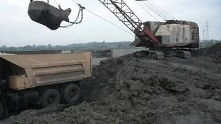 Old russian dragline EO-5111