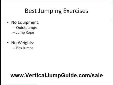 How To Jump Higher. Exercises To Jump Higher