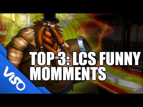 Top 3:  Funny Moments in LCS!