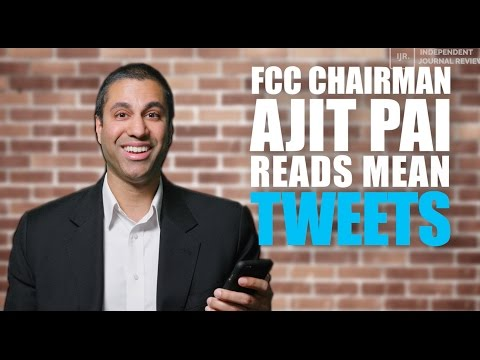 Ajit Pai Reads Mean Tweets