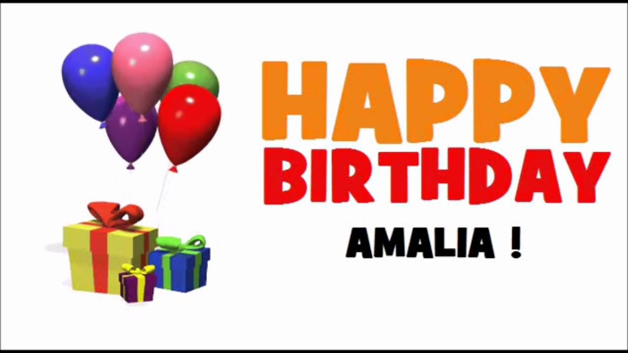С днём рождения поздравления амалии 48