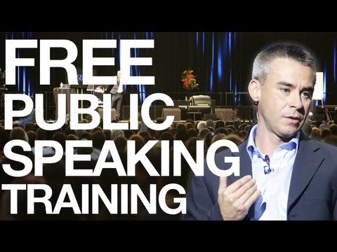 Public Speaking & Public Speaking Skills