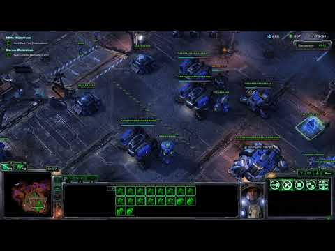 StarCraft II Wings Of Liberty: Zero Hour Brutal Walkthrough