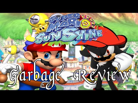 Super Mario Sunshine - A Garbage Review