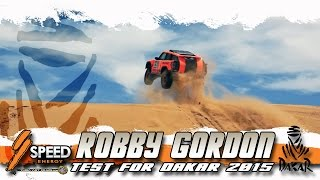 Robby Gordon test for DAKAR 2015