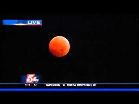 Blood Moon Eclipse Visible in Twin Cities Metro