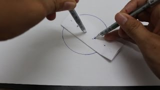 Life Hacks for Pen - 4 Ways To Draw a Perfect Circle