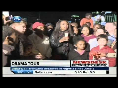 United States President Barrack Obama Africa Tour