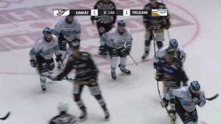 Hannes Björnisen maali Kärppiä vastaan