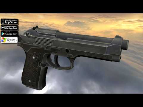 Beretta 92 FS (full disassembly and operation)