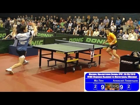 Ma LIN vs Alexey LIVENTSOV 1/4 Russian Premier League Playoff