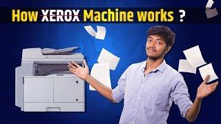 How xerox machine works? | How it works #01