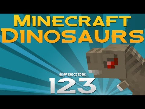 Minecraft Dinosaurs! - Episode 123 - Like new dino smell