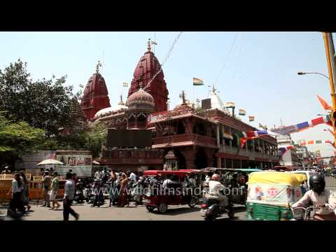Digambar Jain Lal Temple, Chandni Chowk, Delhi video