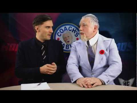 Coach's Corner Spoof - Hockey Hall Of Fame And Steroids (video)