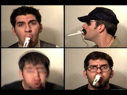 Enter Kazoo Man:  Metallica Enter Sandman performed on KAZOO by Mister Tim (multitrack) Music Videos