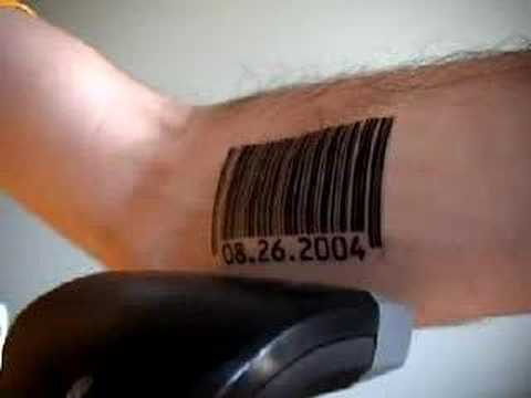 Scanning Barcode Tattoos with.