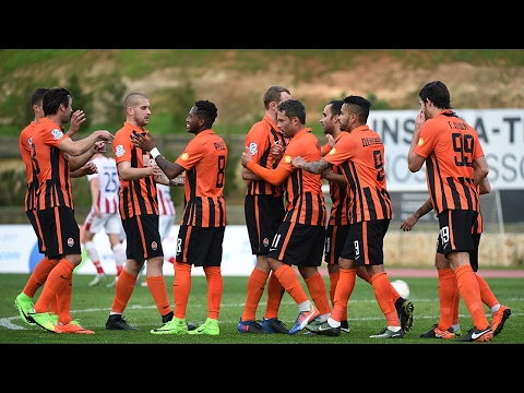 All goals scored at Shakhtar's winter training camp