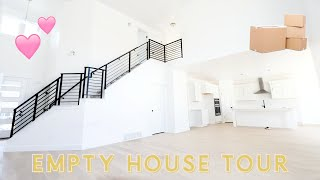 EMPTY HOUSE TOUR OF MY NEW HOME! | Aspyn Ovard