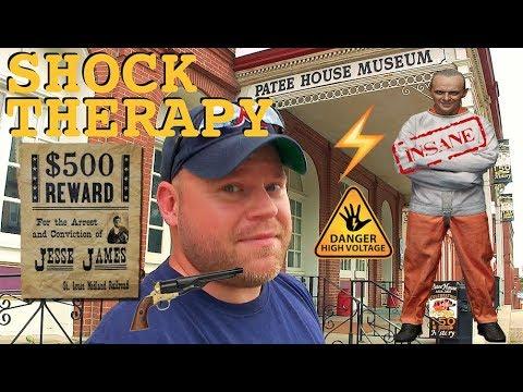 Psychiatric Torture Asylum & Jesse James Bullet Hole