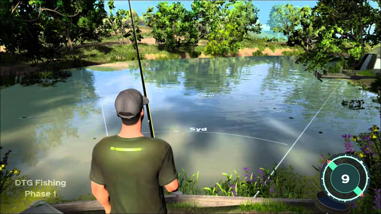 симулятор наша рыбалка геймплей