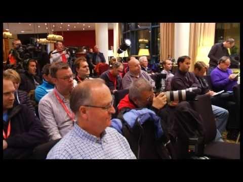 Fernsehbericht über Biathlet Ole Einar Bjoerndalen bei TV touring Aktuell 2010.