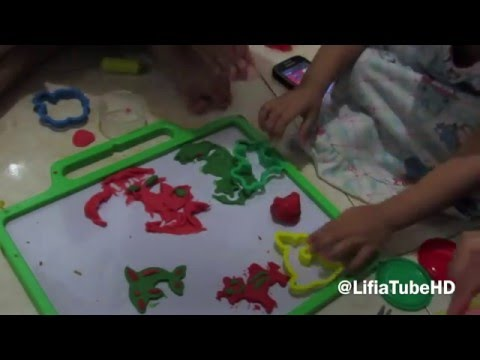 Play and Learn - Bermain Fun doh - Seri Gambar Hewan Lucu