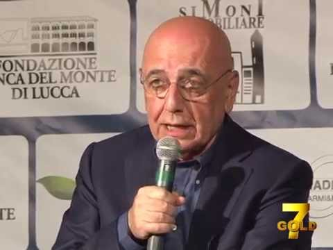 7gold - Crudeli intervista Adriano Galliani 2