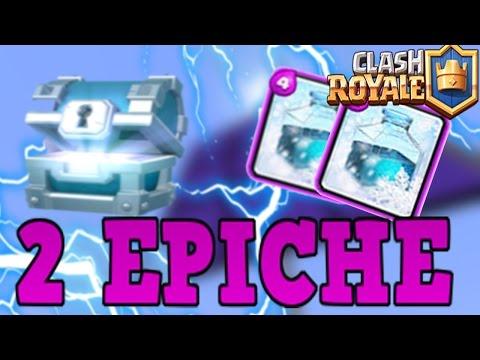 2 EPICHE NELLA SILVER CHEST - Clash Royale