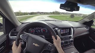 2018 Chevrolet Tahoe RST Performance Edition - POV Test Drive (Binaural Audio)