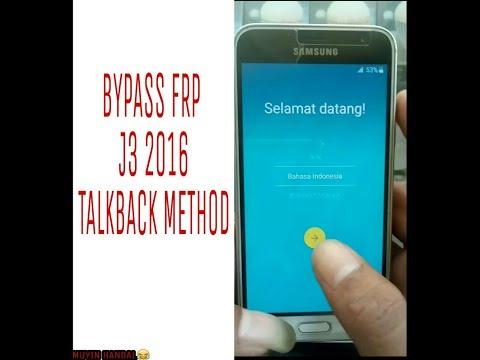 Cara Melewati Verifikasi Account Google Samsung J3 2016 Bypass Frp