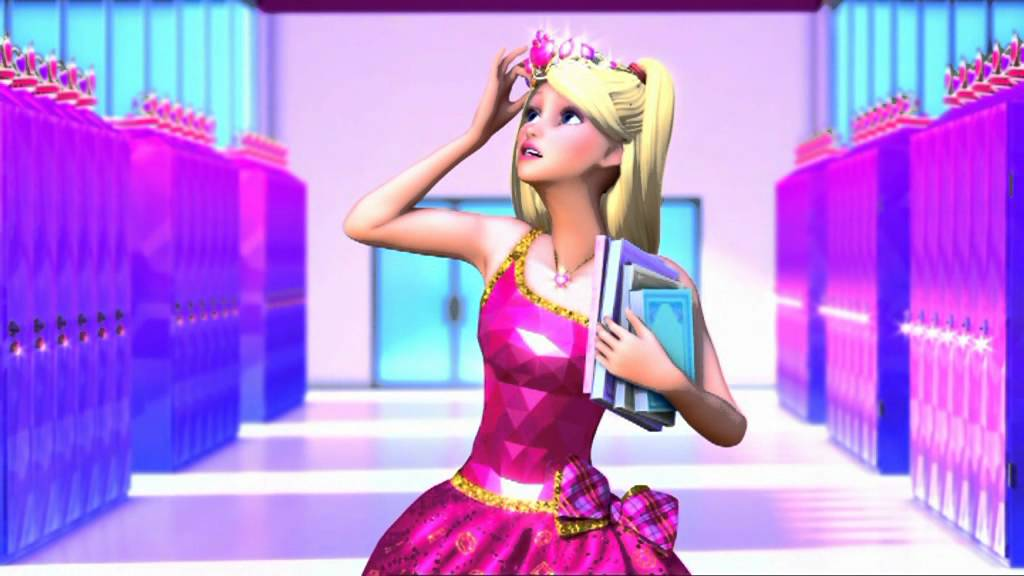 Queen barbie from youtube