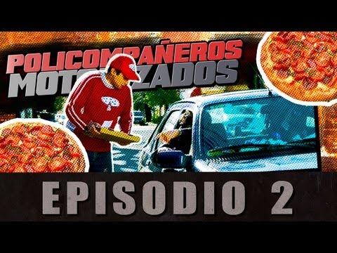 Policompañeros Motorizados 02 - Pizza-Manía