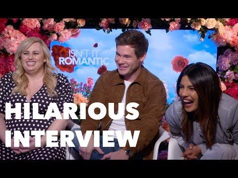 ISN'T IT ROMANTIC Funny Cast Interview: Priyanka Chopra Jonas, Rebel Wilson, Adam Devine thumbnail