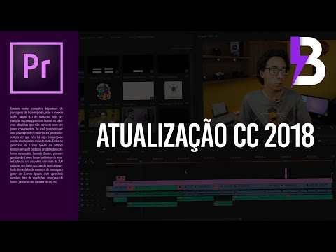 TESTANDO o ADOBE PREMIERE CC 2018 - REVIEW