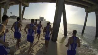 Pensacola Beach Preseason Training for UWF Fall Sports