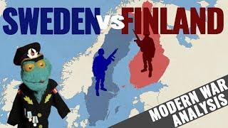 Sweden vs Finland analysis (2018)