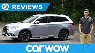 Mitsubishi Outlander PHEV 2018 SUV in-depth review | carwow Reviews