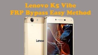 Lenovo K5 Vibe  FRP Bypass 2017 Hindi
