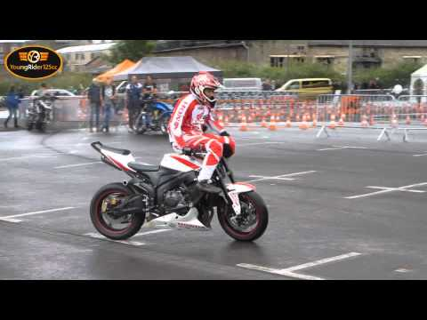 Chris Pfeiffer, Rok Bagoros und Mokus | Stunts on Intermot 2012