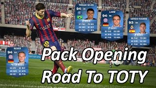 Pack Opening 1kk Road To TOTY | FIFA 15 IOS