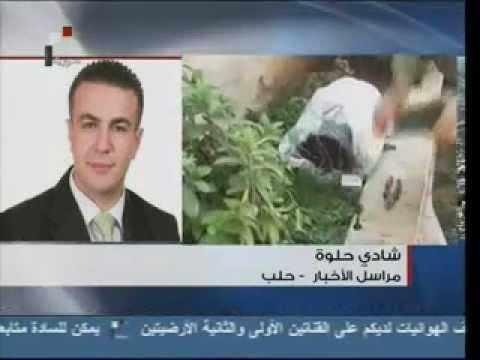 Syrian Arab Television - News in Arabic - 14/8/2012